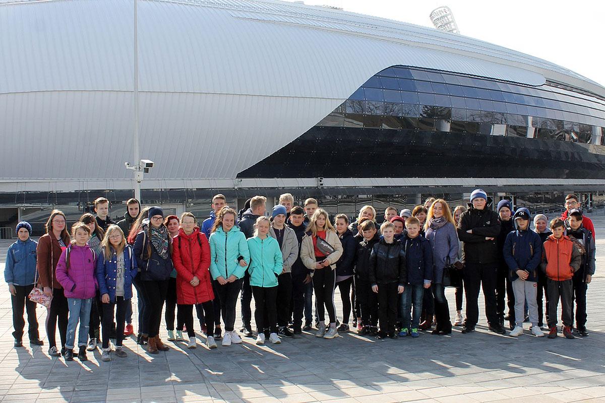 Толочинские школьники посетили объекты II Европейских игр
