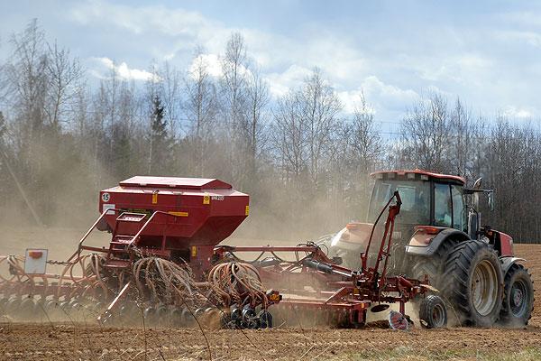 Есть первые гектары: в Толочинском районе приступили к севу