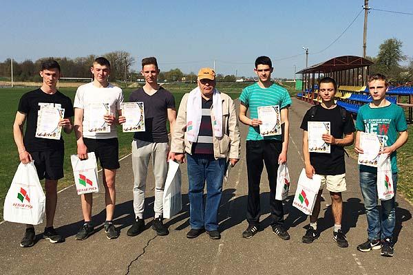 В Толочине состоялась спартакиада для будущих новобранцев