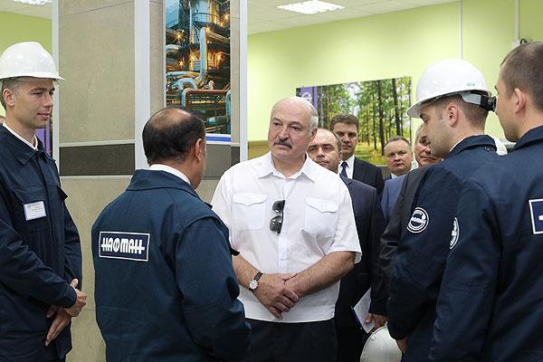 Тема недели: Президент Беларуси провел совещание по развитию нефтепереработки