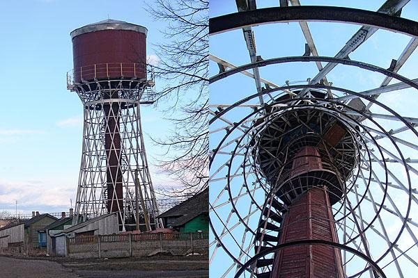 Водонапорная башня в Коханово — уникальный объект
