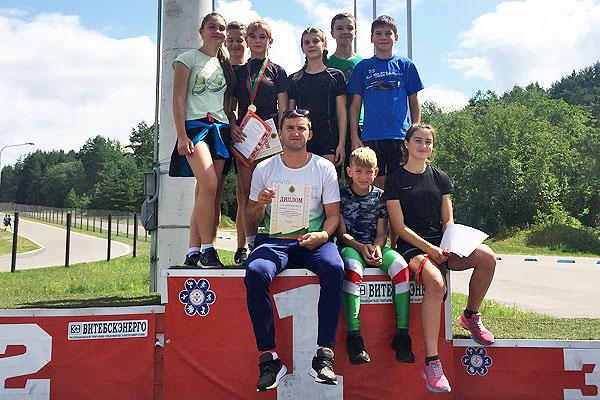Толочинские биатлонисты успешно открыли летний сезон