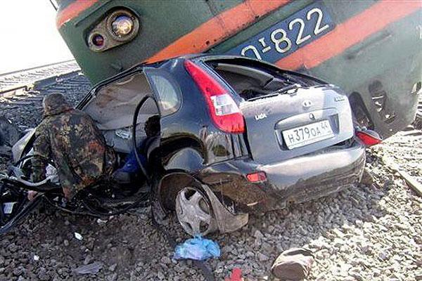 ДТП на железной дороге чревато очень тяжелыми последствия