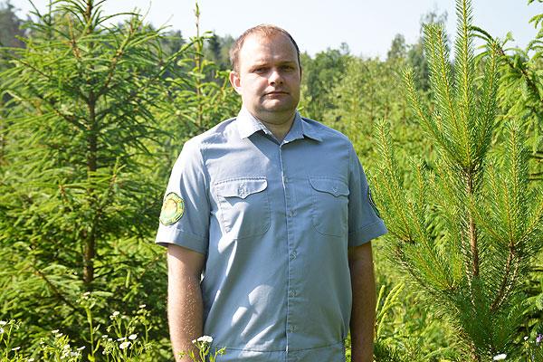Толочинский лесничий Василий Козун пошел по стопам отца и горд избранной профессией