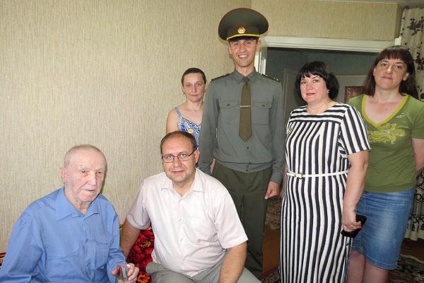 В Толочинском районе вручили юбилейные медали