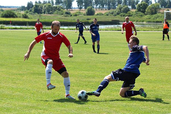 Толочинские футболисты одержали первую победу в рамках первенства области. Последует ли продолжение?