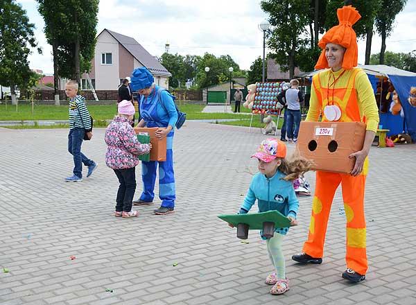 В Толочине праздник детям подарят культорганизаторы