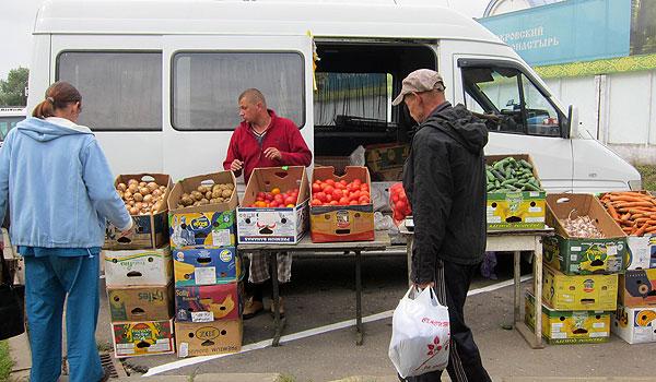 Огурец молодец и морковь не свекровь — все для дома: цены на овощи на рынке в Толочине