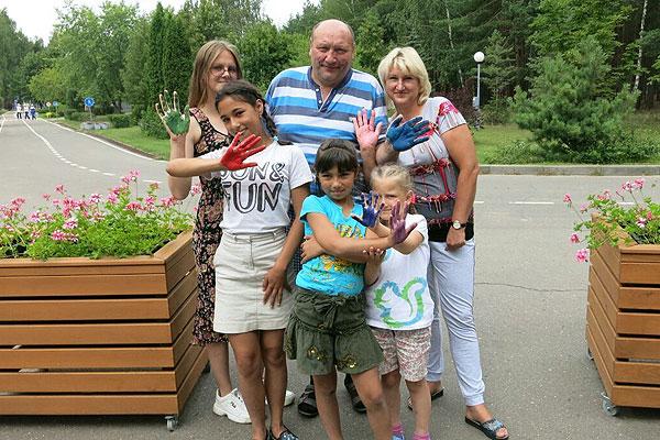 Воспитанники толочинского детского дома семейного типа оздоровились и отдохнули в рамках благотворительного социального проекта
