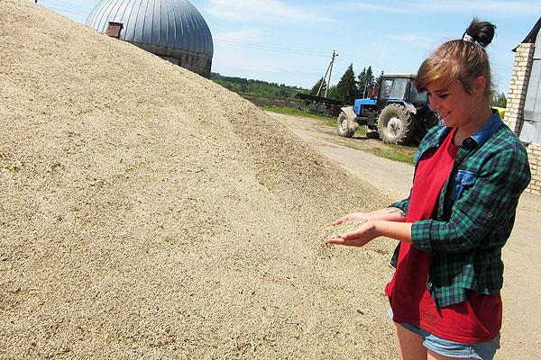 Аграрии Толочинского района на погоду надеются, но и сами не плошают