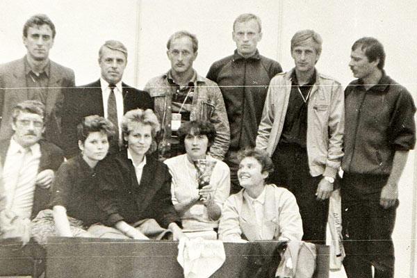 Дата в календаре: 30 лет назад толочинские спортсмены представили Витебскую область на всесоюзных соревнованиях в Москве