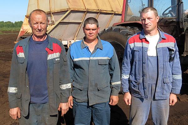 Усвіжбукскія торфараспрацоўкі сталі справаю жыцця ўжо для некалькіх пакаленняў мясцовых жыхароў