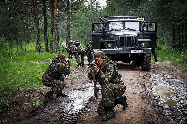 Военнослужащие сил специальных операций, призванные из Толочинского района, зарекомендовали себя одними из лучших