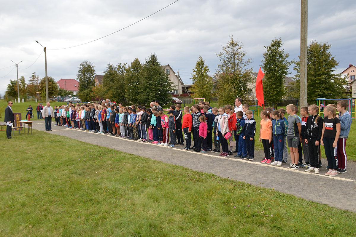 В Толочине стартовала районная спартакиада школьников
