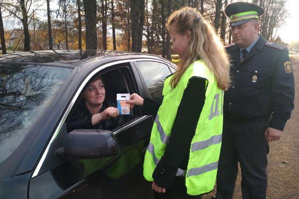 День вежливого пешехода и водителя прошёл в Толочине