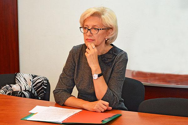 Ирина Левкович выдвинута кандидатом в члены Совета Республики