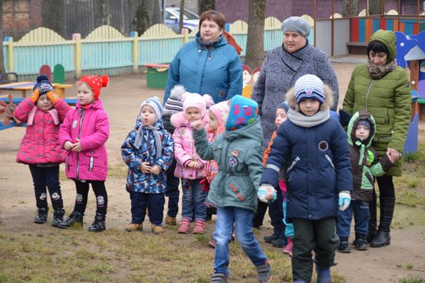 После ремонта в Толочине открылся детский сад №1 (+фото)