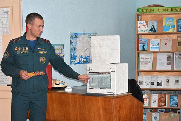 Толочинские спасатели в рамках акции «За безопасность вместе!» посетили агрогородок Заднево