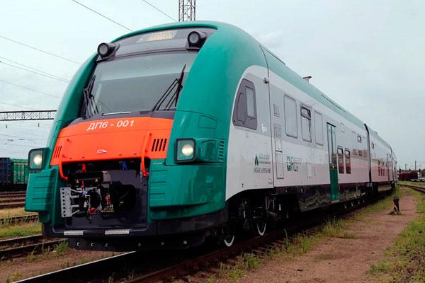 Новые дизели поедут по маршруту Витебск–Минск с 8 декабря