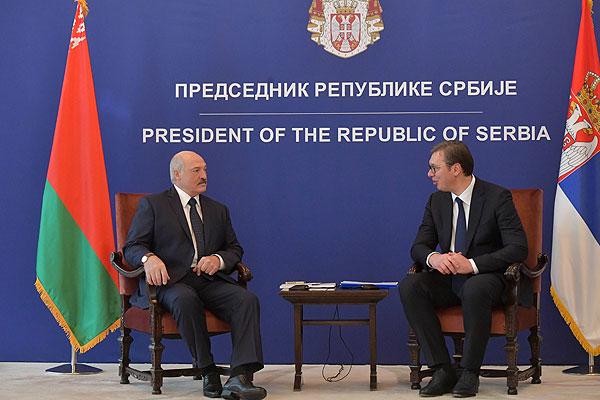 Тема недели: визит Лукашенко в Сербию