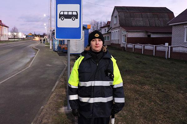 Инспектор толочинской ГАИ проанализировала проблемные ситуации, возникающие на пешеходных переходах