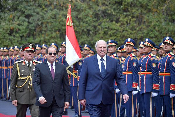 Тема недели: визит Президента Беларуси в Египет