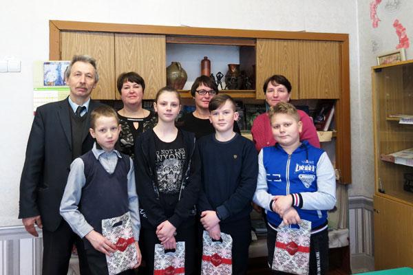 Поздравляем победителей из Жукневской школы