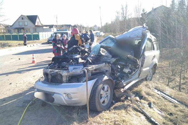 В Толочинском районе 24 марта в ДТП погиб водитель «Kia Sorento»