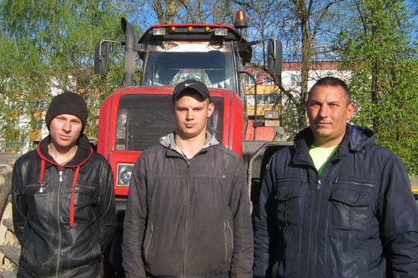 Толочинский райагросервис оценил работу практикантов