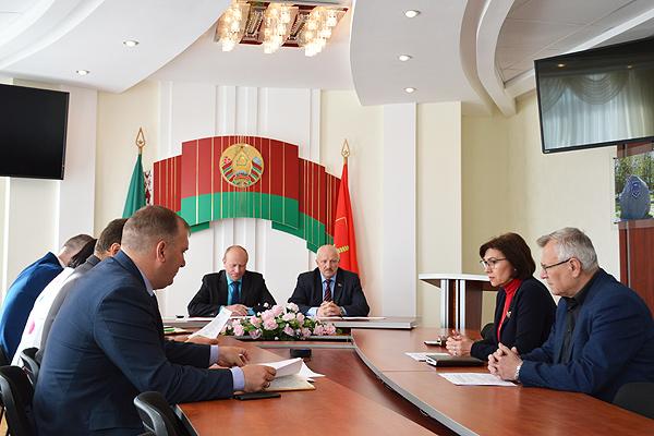 Районная комиссия по выборам Президента образована в Толочине