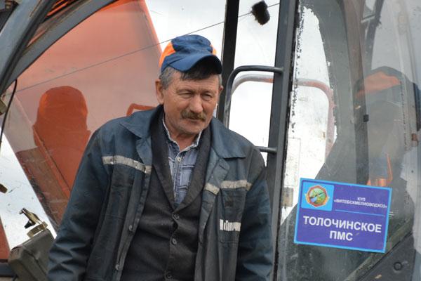 Толочинский мелиоратор Анатолий Метелица всю жизнь верен одной профессии