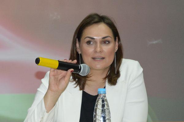 День информирования в Толочинском районе провела пресс-секретарь Президента страны Наталья Эйсмонт