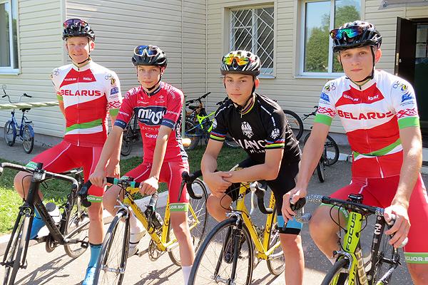 Юные толочинские велогонщики снова на пьедестале почёта