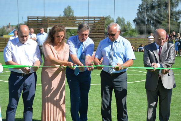 Футбольная площадка в Коханово готова принять юных спортсменов (+фото)