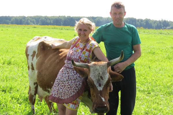 Фермеры Андрей и Марина Гришкевичи о своём подсобном хозяйстве, детях и планах на будущее