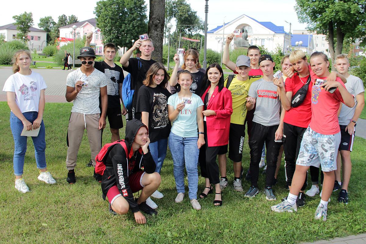 Толочинская молодёжь трудится и отдыхает вместе