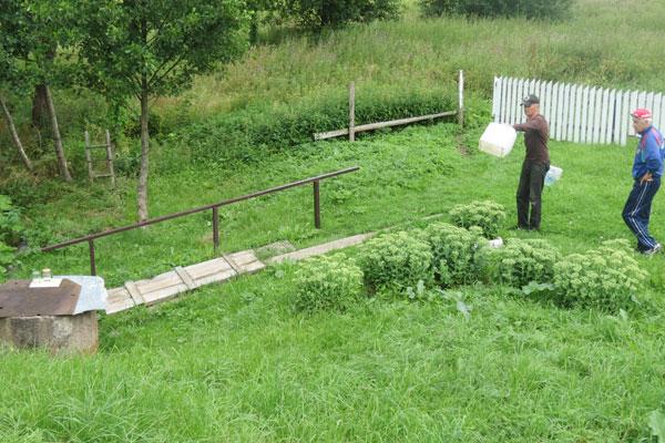 В деревне Ильинка благоустроили источник