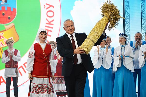 «Дажынкі-2020»: у хлеборобов Витебской области лучший результат за пятилетку (+фото)