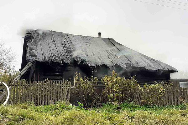 На пожаре в Мартюхово погиб человек