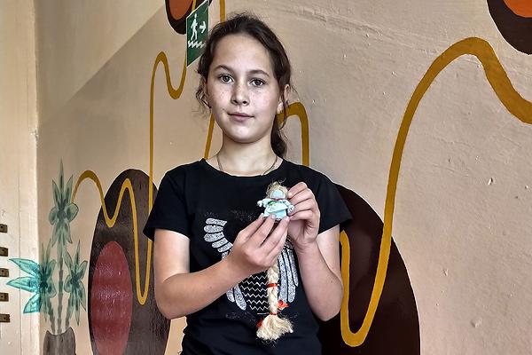 Другое места на абласным конкурсе заняла работа вучаніцы Забалацкай школы