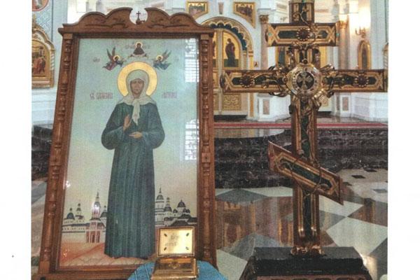 В Свято-Покровский женский монастырь в Толочине прибыли святыни