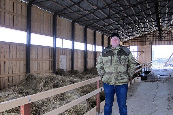 В ОАО «Славное» быстро и экономно строят животноводческие объекты