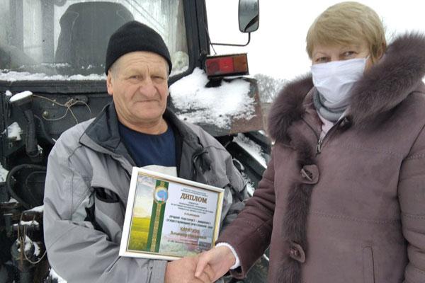 Механизатор ОАО «Коханово-Агро» стал победителем в республиканском соревновании
