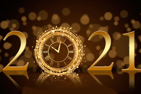 С наступающим 2021 годом!