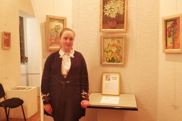 В толочинском историко-краеведческом музее открылась выставка картин Марии Пелевиной