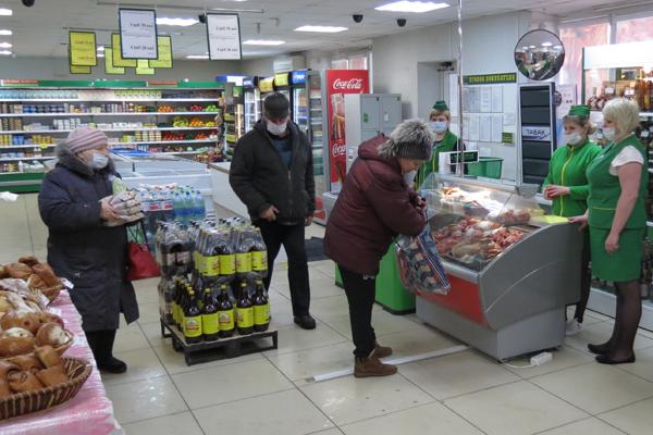 Магазин «Золотой колос» возле автостанции начал работу в новом формате