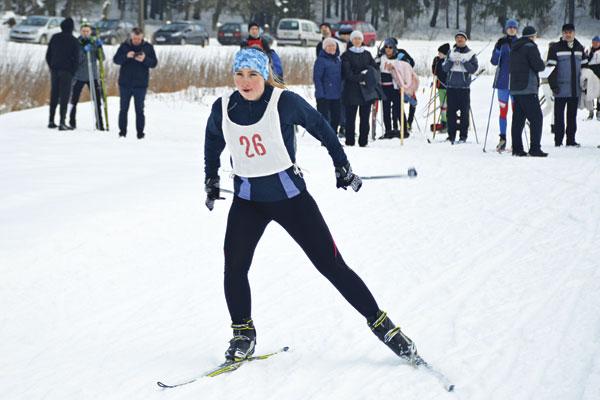 Сильнейших определили лыжники в Толочине