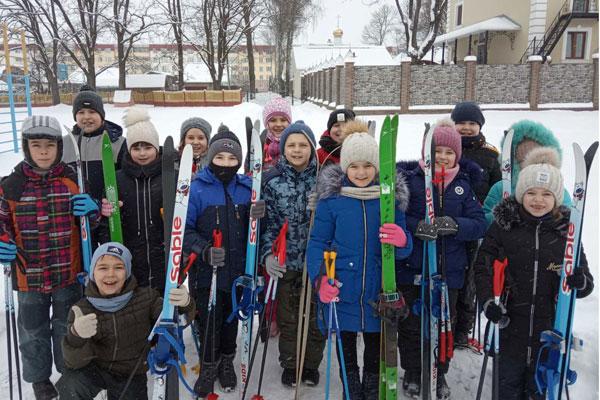 Зимние интересы школьников