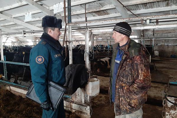 Объекты сельского хозяйства в Толочинском районе под особым контролем