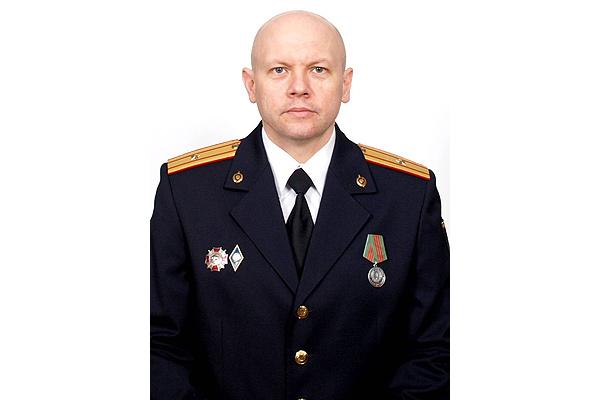 Старший эксперт Толочинского МРО получил президентскую награду